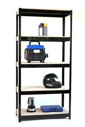 Spur Shelving Mighty Boltless Shelving unit 5 Shelf 950w x 450d. Made in Britain.