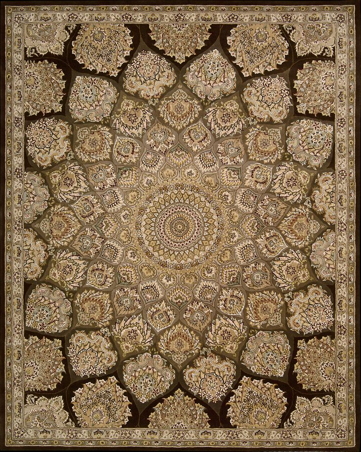 Nourison 2000 Area Rug Available In Rectangle Round Oval And Runner Traditional Persian With Center Medallion