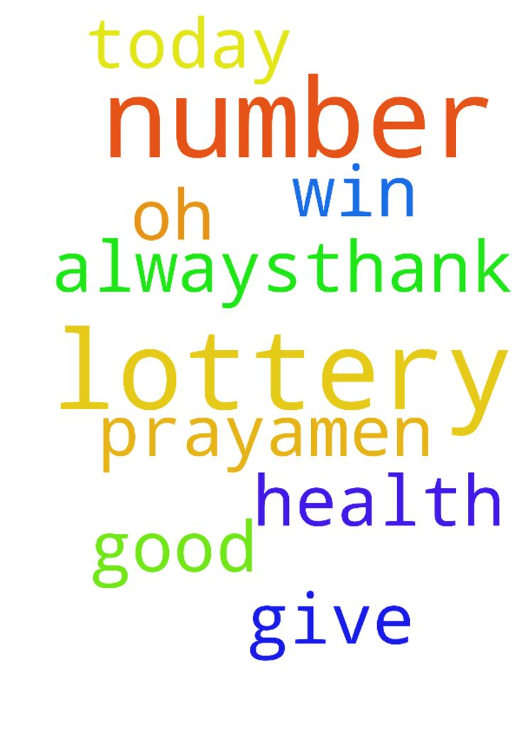 Lord Jesus, I pray to you that my lottery number will - Lord Jesus, I pray to you that my lottery number will win today. Give us oh lord a good health always,thank you. In Jesus Christ we pray,amen. Posted at: https://prayerrequest.com/t/Ayn #pray #prayer #request #prayerrequest