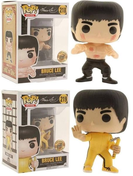 BAIT Exclusive Bruce Lee Funko POP! Vinyl Figure Set of 2 – Tintin Toy Hunt
