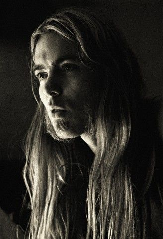 Gregg Allman of the Allman Brothers Band, this was some of the true rock and roll.