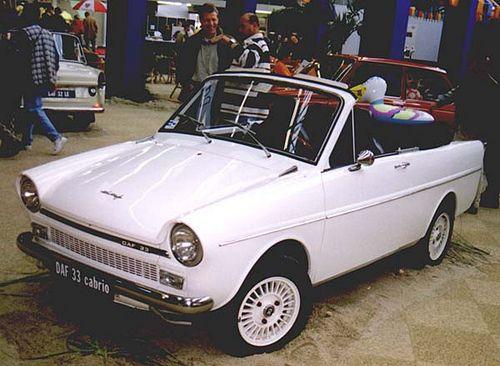 DAF 33 cabrio,not a production car