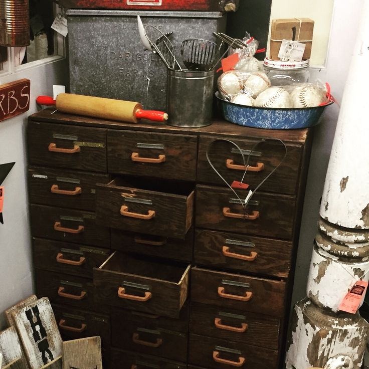 LOVE this vintage, handmade chest of drawers!!! Facebook.com/JunkinJehosaphat