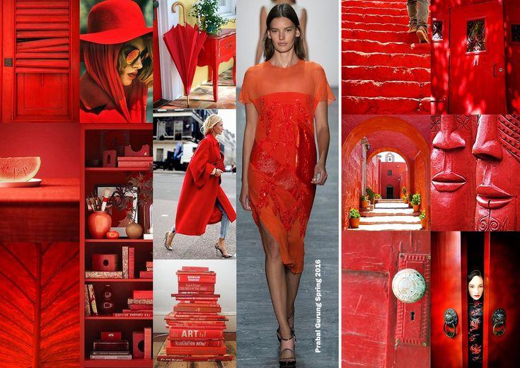 Color trends Spring 2016 - Fiesta / Divatszínek 2016 tavasz - Fieszta