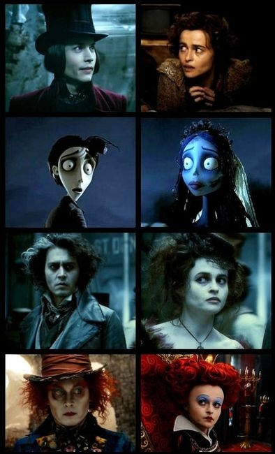 Charlie and the Chocolate Factory. Corpse Bride. Sweeny Todd: The Demon Barber of Fleet Street. Alice and Wonderland. See them all.