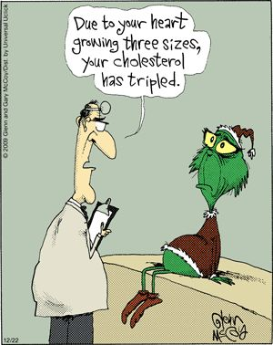 The Flying McCoys by Glenn and Gary McCoy  ~ Christmas Humor ~The Grinch gets Good News/Bad News