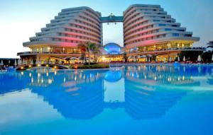 #Antalya - #AntalyaHotels - #AksuAntalya - Miracle Resort Hotel - http://www.antalyahotels724.com/aksu-antalya/miracle-resort-hotel - Hotel Information: 							 								Address: Lara Turizm Bolgesi Antalya, 07300 Kundu, Aksu Antalya        								Located proper by the water, this lodge options an outside pool, indoor pool and a personal seashore space with free loungers and parasols. Turkish tub and sauna, together with Wi-Fi in public areas, are freed from cost. Carpeted
