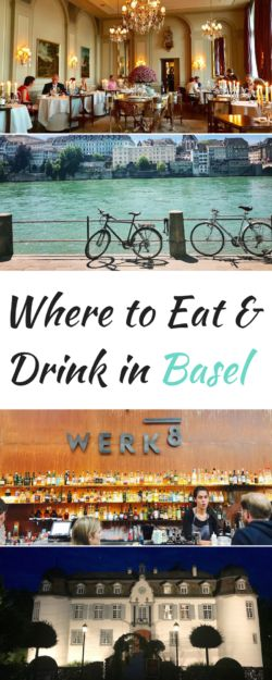 where to eat and drink in basel