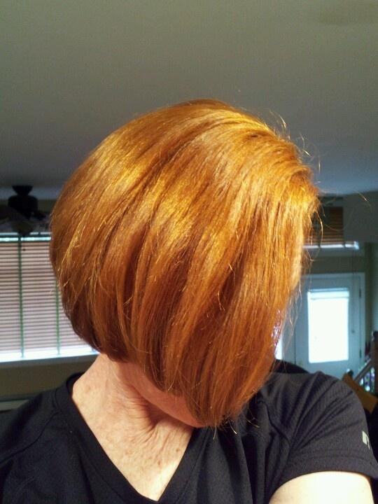 My ginger hair