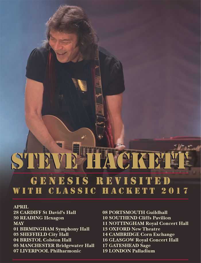 PRESALE: Steve Hackett announces 'Genesis Revisited With Classic Hackett' tour - Planet Rock