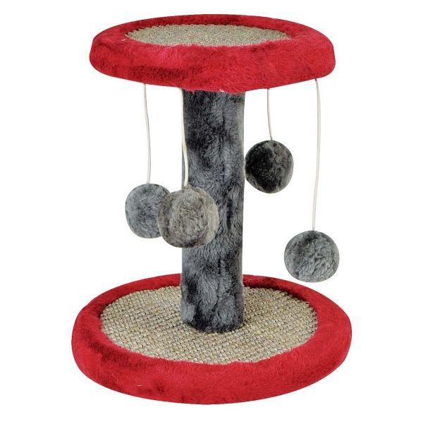 Cat Scratcher Mini Play Centre 24x24cm W 4xdangle Play Balls 4asst... | Pet Accessories | Cheap as Chips