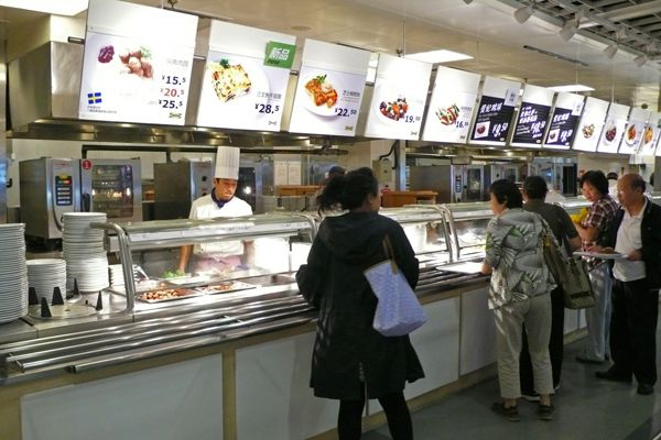 Serving Counter And Menu Ideas Clear Images Ikea China Canteen Designs Canteen Ikea