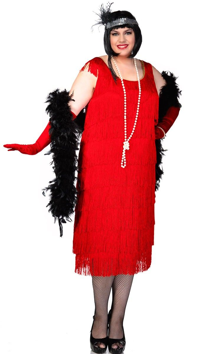 9d9f25e8d00 Amazing women s 1920 s red plus size flapper fancy dress costume by Elevate  Costumes Australia. Premium quality adult s flapper costume