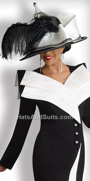 Image detail for -home new arrivals donna vinci couture church hat h1341