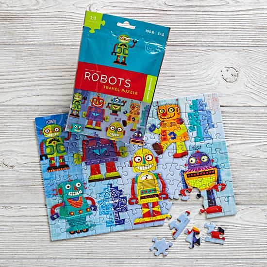 On the Go Travel Puzzle (Robot)  | The Land of Nod