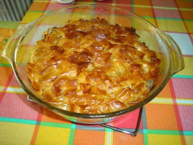 Make My Day! : Μανιταρόπιτα με τυριά