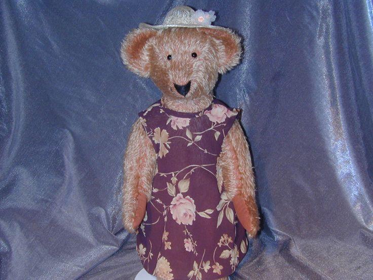 Collectible Mohair Teddy Bear Claudette