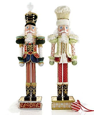 Mark Roberts Christmas Decorations, Nutcracker Collection