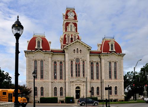 Parker County Courthouse Weatherford Texas Places I Ve