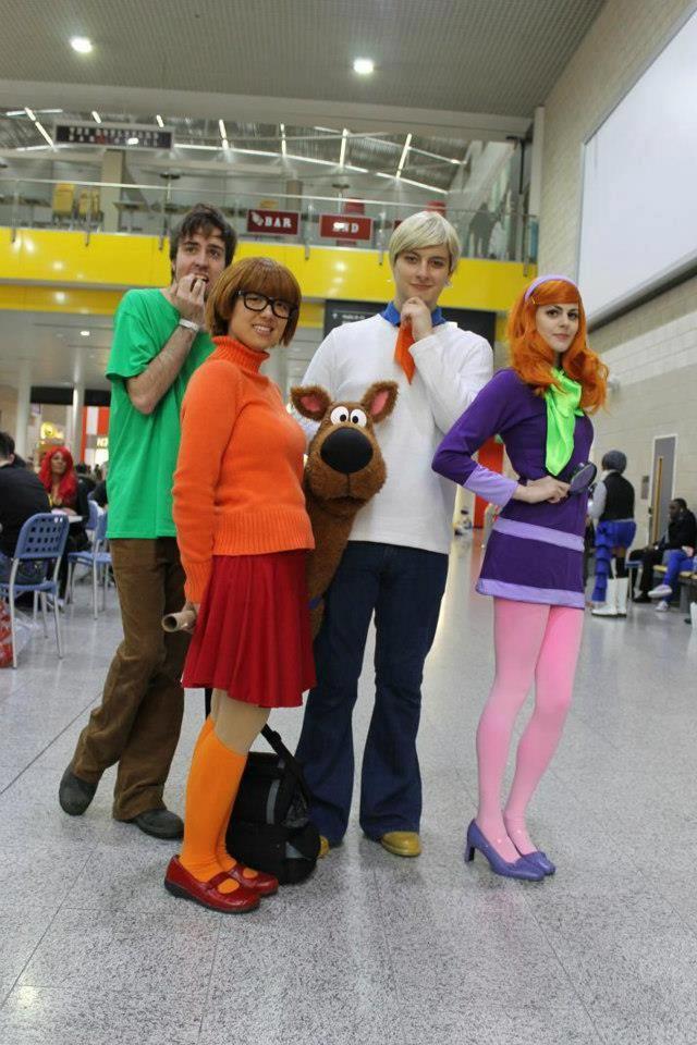 Excellent Scooby Doo cosplay