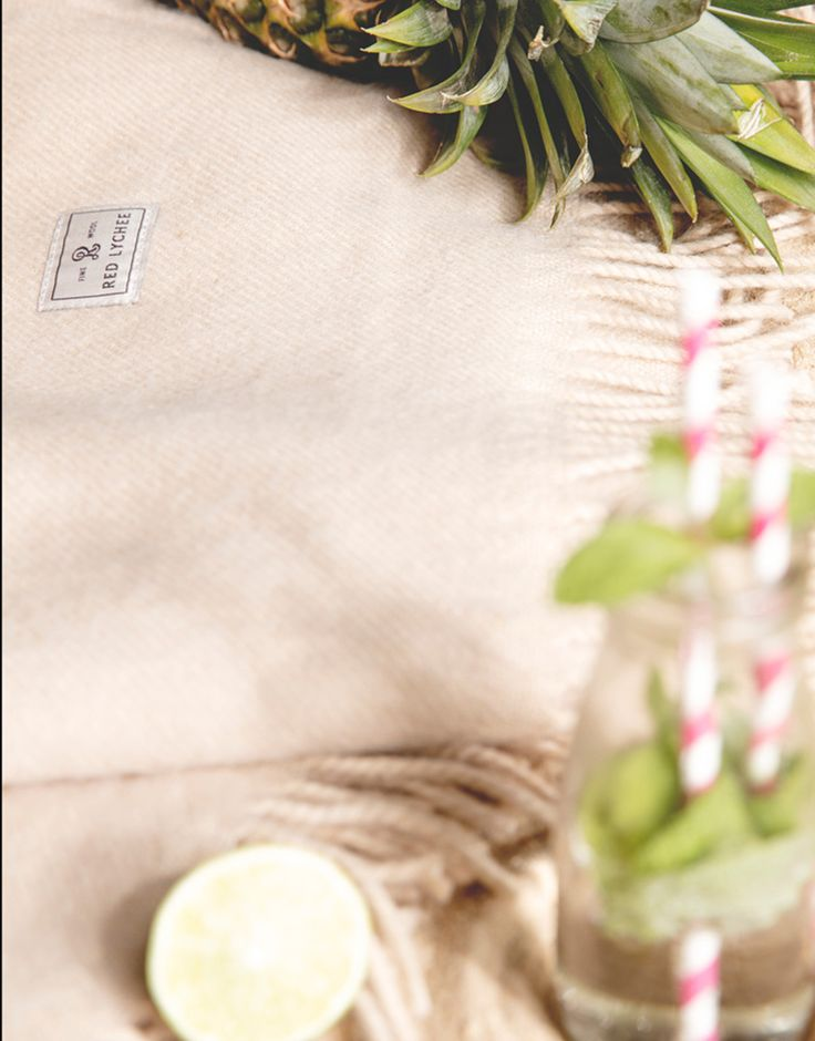 Ford Wool Blanket. Woven from 100% top quality wool with two fringed sides make this blanket extra soft and cosy.