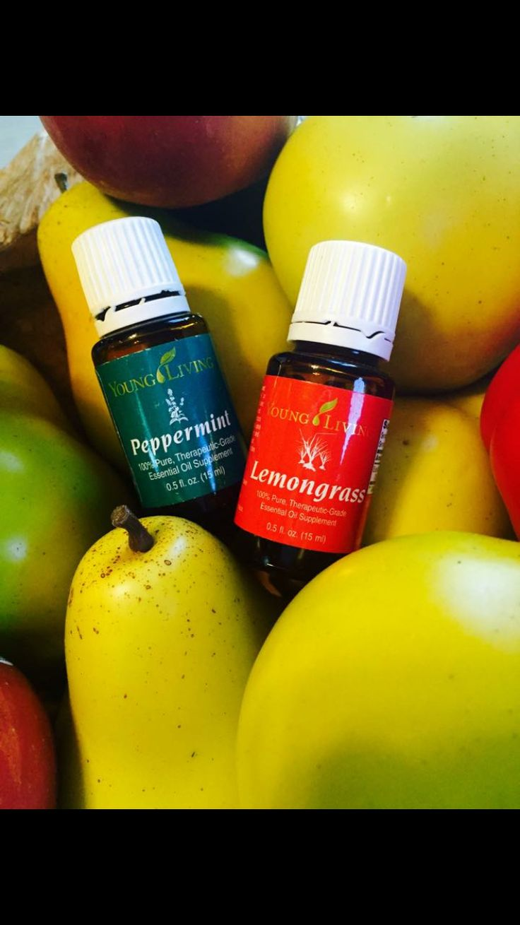 Young Living Oils- Say so long to fruit flys by diffusing peppermint and lemon grass oil!