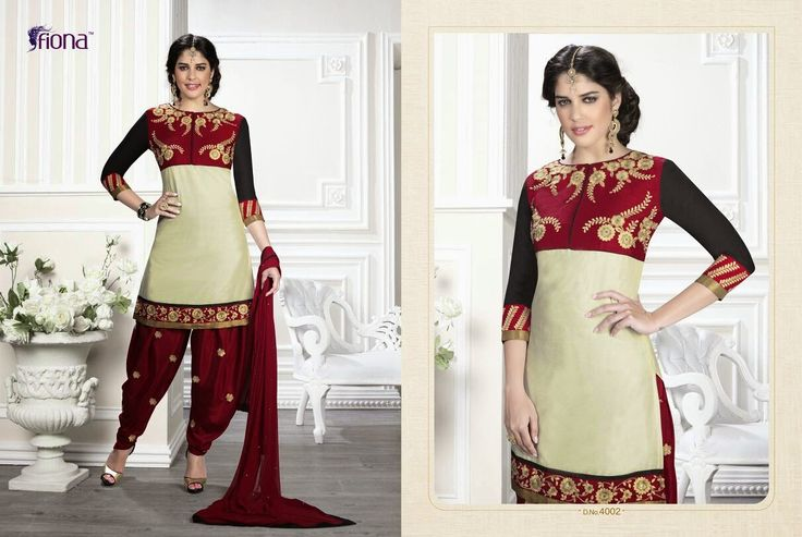Beautiful patyala designer collections
