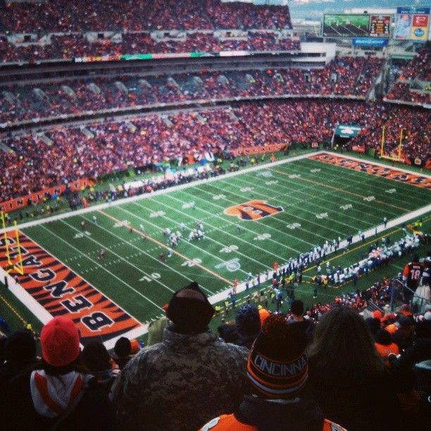 Love of football and my hometown. Go Bengals!