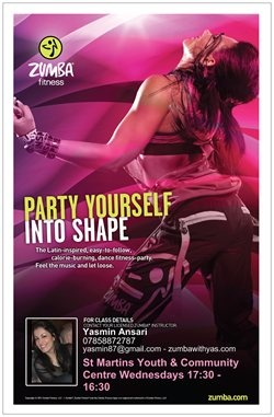 Party yourself into shape with #zumba ! Join me for free sessions on May 23rd and May 30th!
