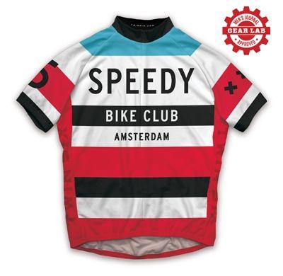 The Speedy Amsterdam Cycling Jersey   TWINSIX