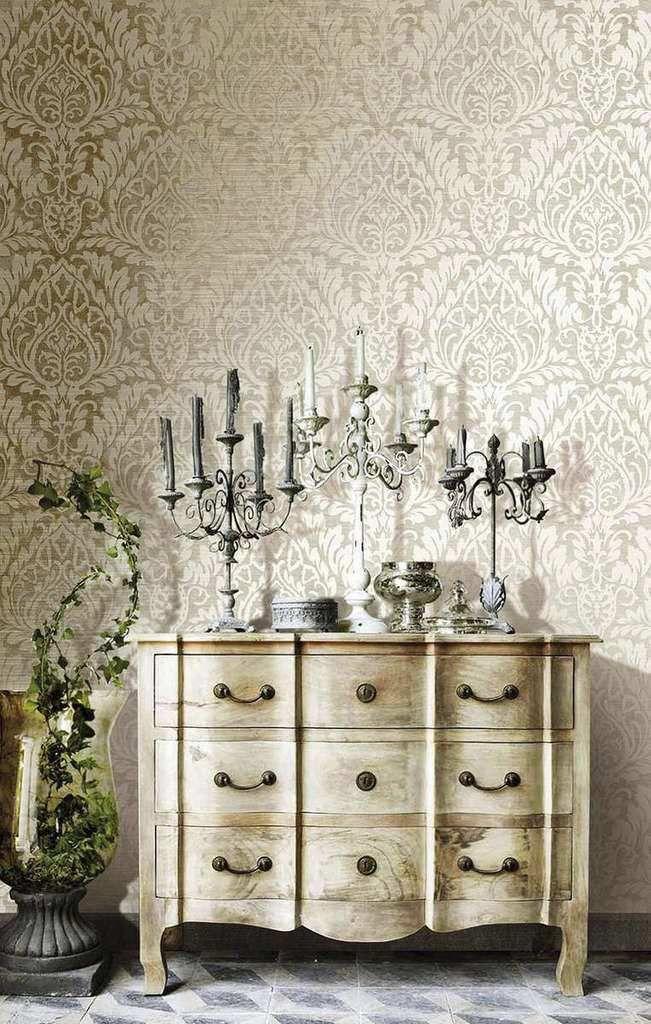 best 25 papier peint baroque ideas on pinterest chambre. Black Bedroom Furniture Sets. Home Design Ideas