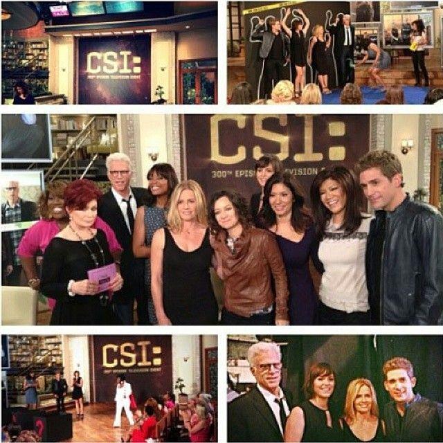 CSI on The Talk #csi #csilasvegas #lasvegas #vegas #thetalk #talkshow #team #sarasidle #jorjafox #gregsanders #ericszmanda #dbrussell #teddanson #juliefinlay #elisabethshue #funny #like #love #interview #fun #amazing #300 #csi300 #cbs #crime #tvshow #usa