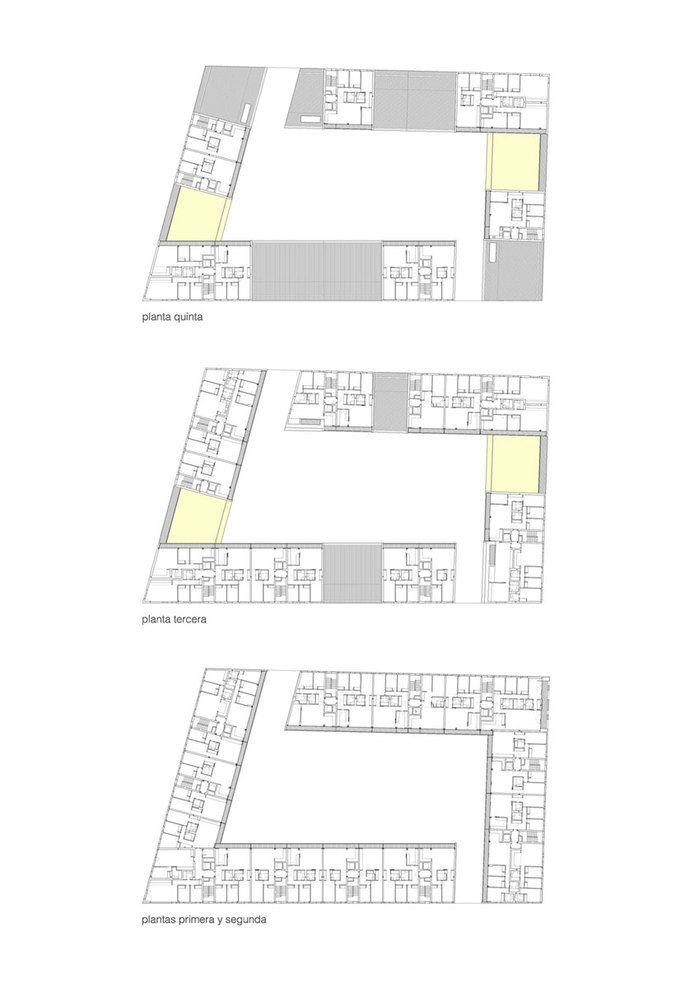 zigzag arquitectura — VIVAZZ, 131 Viviendas Protegidas — Image 9 of 15 - Europaconcorsi