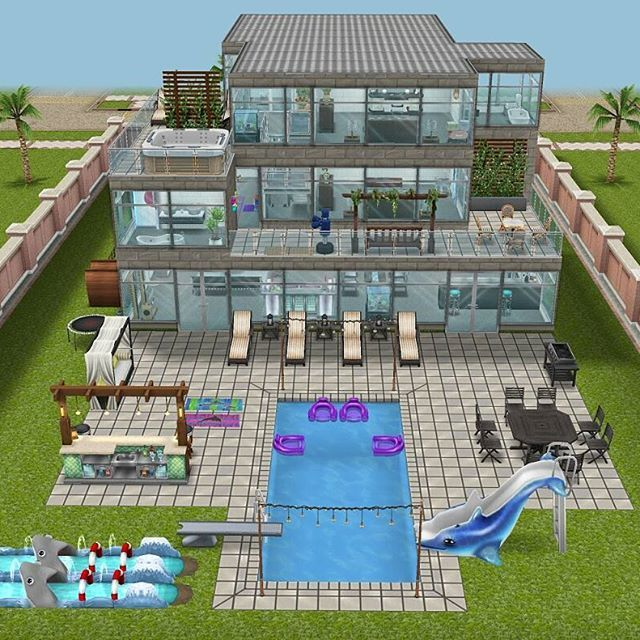Sims Freeplay House Designs