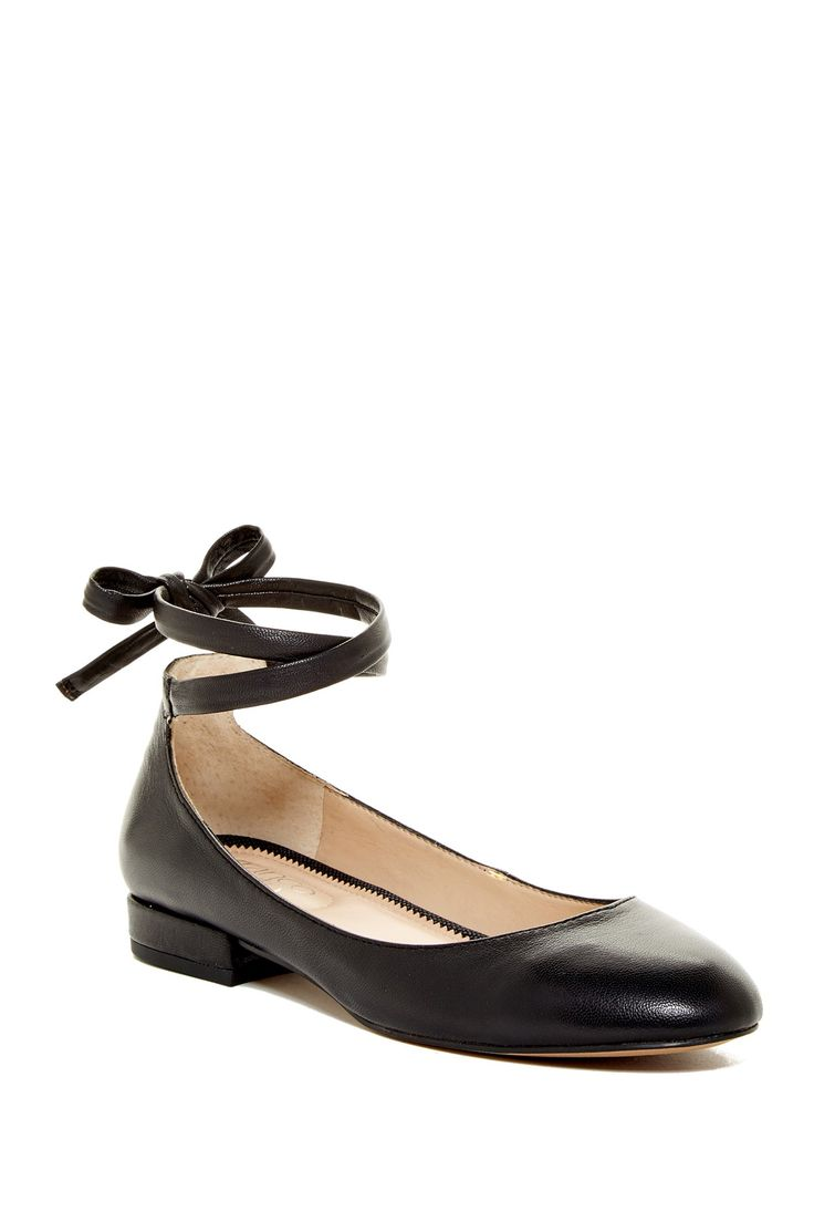 Blake Leather Lace Flat by Franco Sarto on @nordstrom_rack