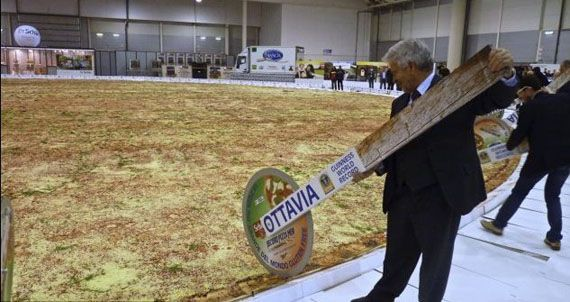 The World's Largest Pizza Is Ginormous | Incredible Things