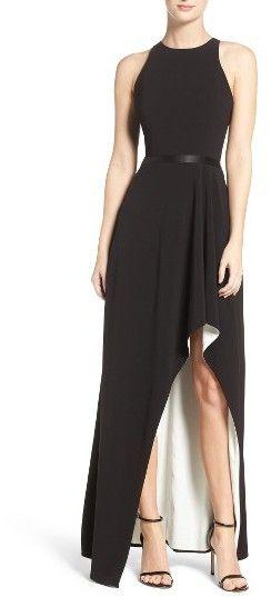 Women's Halston Heritage High/low Gown