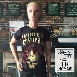 Male Outfit Clothes T Shirt for Fashion Royalty Fr and 1 6 Action Figure | eBay