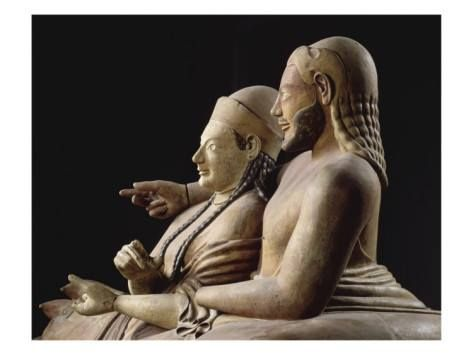 Etruscan Sarcophagus of spouses reclining on a bed.  sc 1 st  Pinterest & 112 best The Etruscans images on Pinterest | Civilization ... islam-shia.org