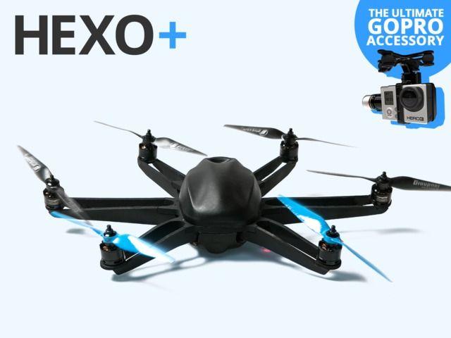 HEXO+: Your Autonomous Aerial Camera by Squadrone System [ AutonomousAvionics.com ] #Film #funny #technology