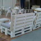 Launge pallet bench from www.iminhave.dk