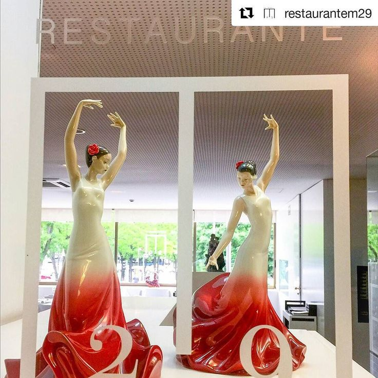 #Repost @restaurantem29: Estamos preparados para recibir #sanisidro en el @restaurantem29 agradecimiento @casayustas  @lladro #sanisidro2017 #madrid #gastronomiaMadrid #música #pregon #restaurantesmadrid #castellana