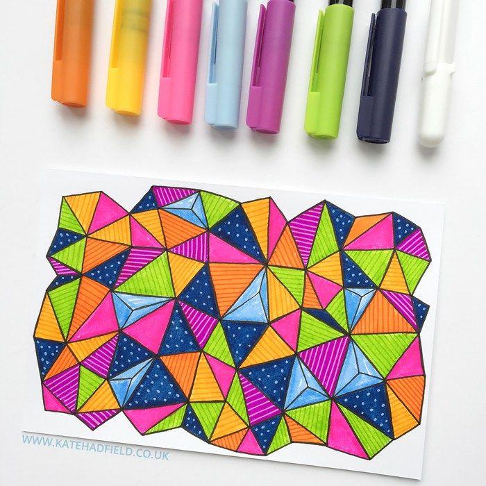 25 Best Ideas About Gel Pen Art On Pinterest