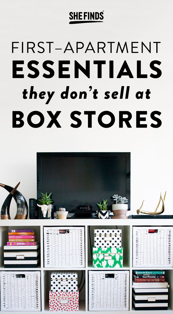 10 First-Apartment Essentials They Don't Sell At Box Stores