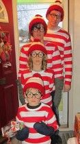 Where's Waldo Knitted hat from String or Nothing