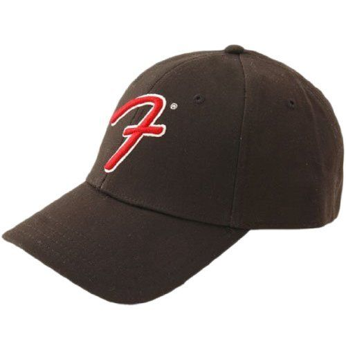 "Fender® Big ""F"" Logo Stretch Cap, Black, S/M by Fender. Save 4 Off!. $23.92. For more than 60 years the Fender® brand has become synonymous with the Spirit of Rock & Roll™. Fender® Headwear is based on this rock & roll history and the rock legends that use Fender® instruments. This stretch cap features a large Spaghetti Logo ""F"" in the center. Classic Fender®..."