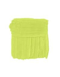 Benjamin Moore Chic Lime-contender fooR kid's bathroom