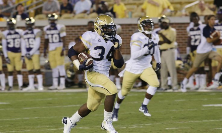 """Georgia Tech's Marcus Marshall Emerges - Today's U  Georgia Tech's Marcus Marshall scored one for """"little brothers"""" on college football's opening weekend....."""