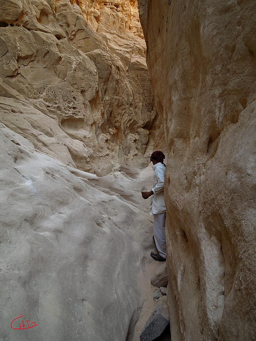 Whtie Canyon Sinai Desert Egypt.Photography Colette  H Guggenheim.