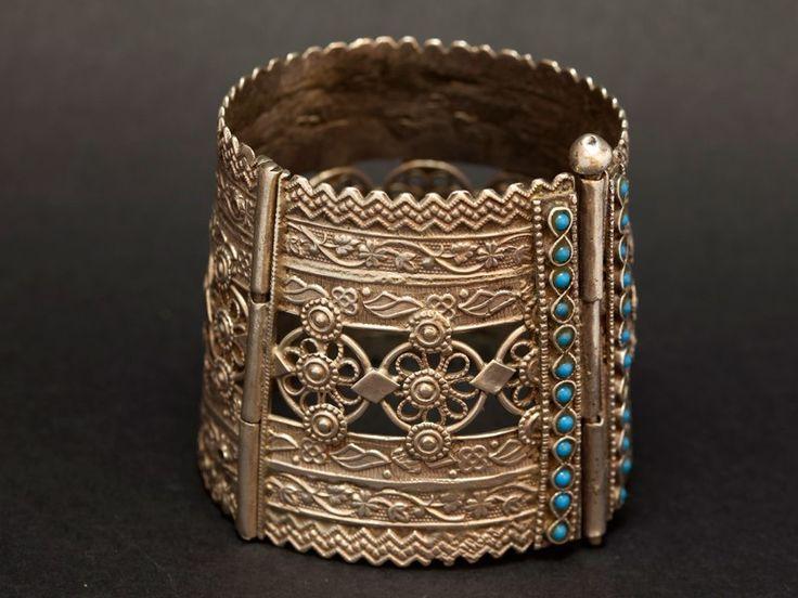 Afghan silver cuff